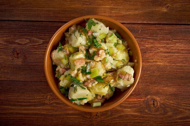 Kartoffelsalat fotografía de archivo