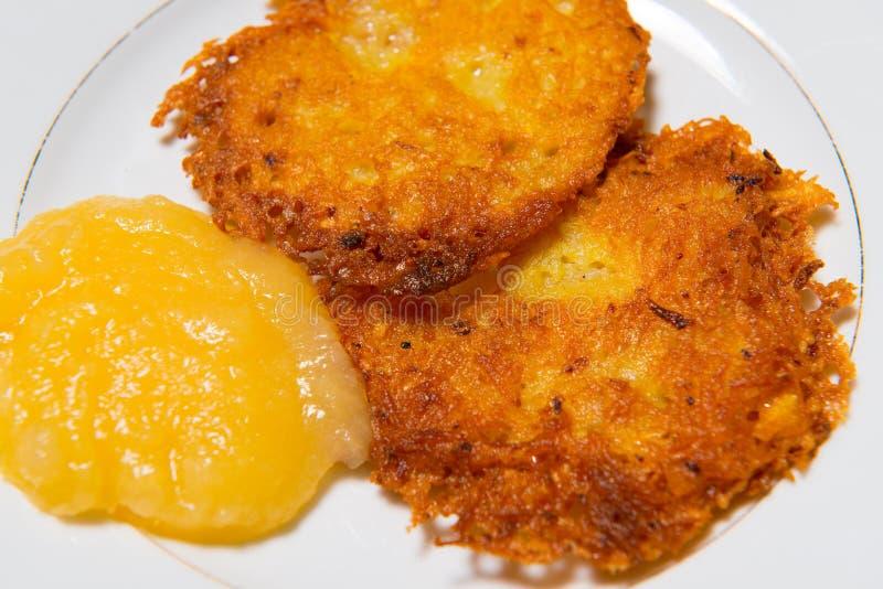 Kartoflany blin zdjęcie royalty free