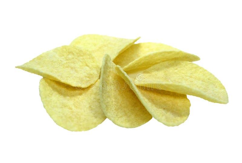 Kartoflany chips zdjęcie royalty free
