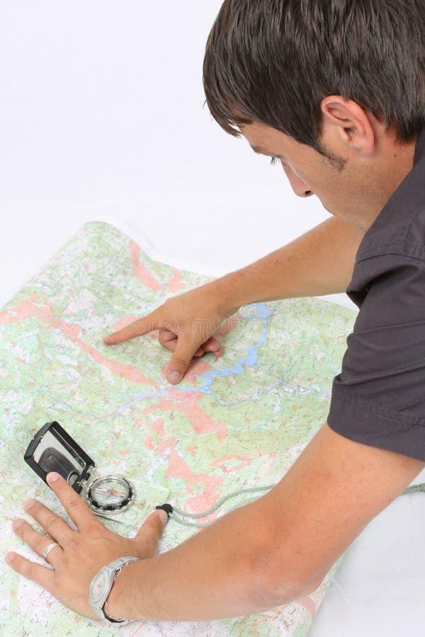 Kartographie lizenzfreie stockfotos