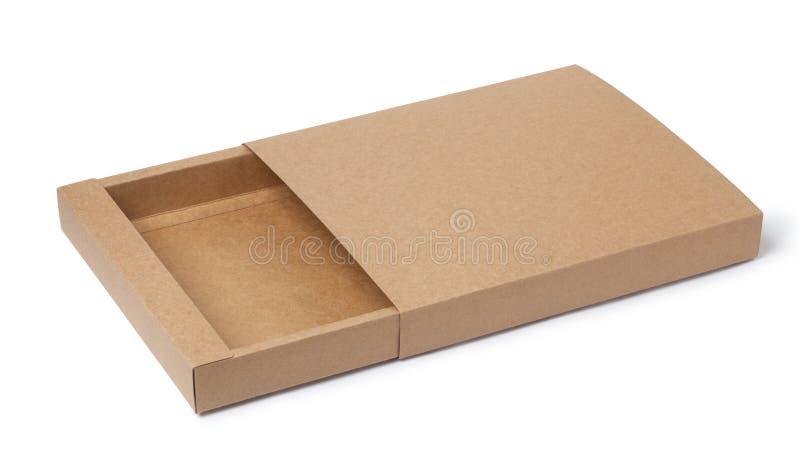Download Karton pusty obraz stock. Obraz złożonej z brąz, zbliżenie - 41953759