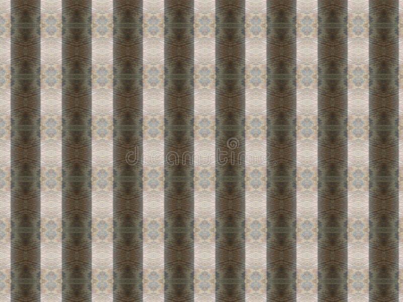 Karton voor het scrapbooking van imitatiehout met een horizontaal diamantpatroon stock afbeelding