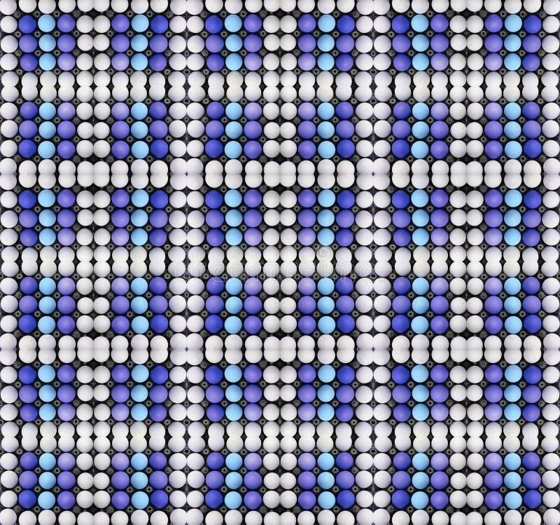 Kartondoos van eieren stock afbeelding