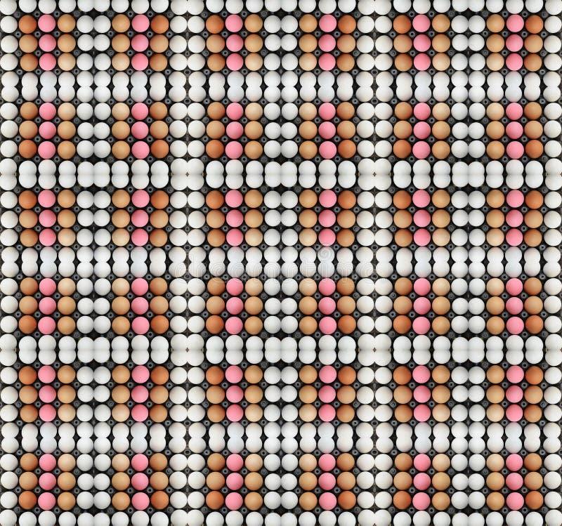 Kartondoos van eieren royalty-vrije stock fotografie