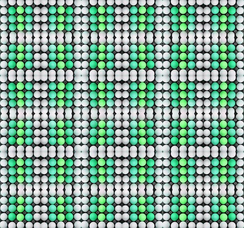 Kartondoos van eieren stock afbeeldingen