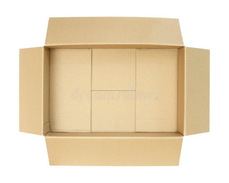 Download Kartonkasten, Draufsicht stockbild. Bild von hintergrund - 96934263