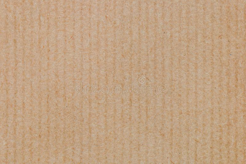 Kartonowa tekstura lub tło, Panwiowa kartonowa pakunku tła tekstura obrazy royalty free