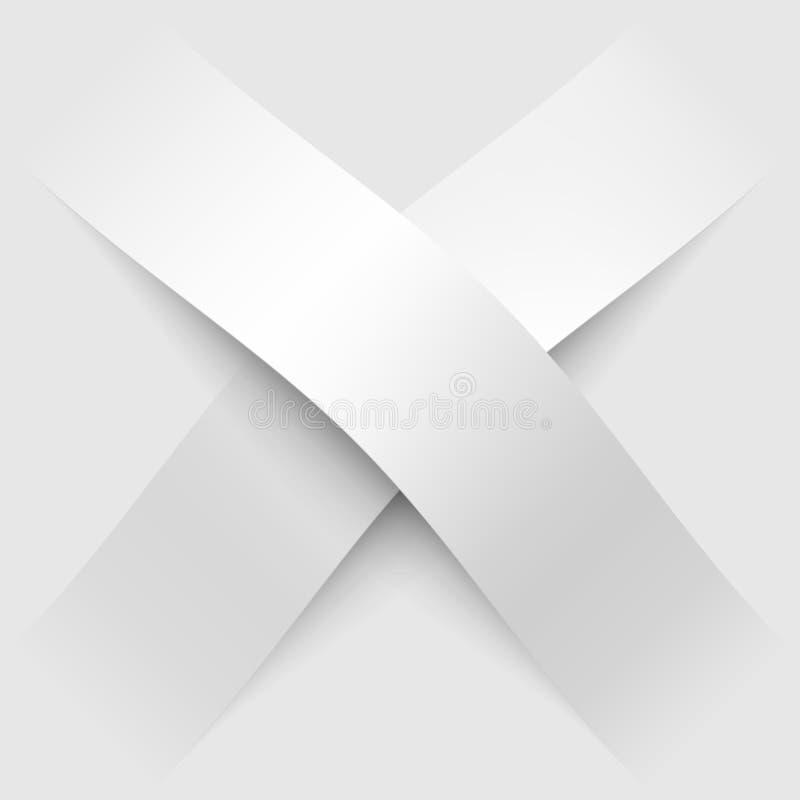 Kartonschaduwen vector illustratie