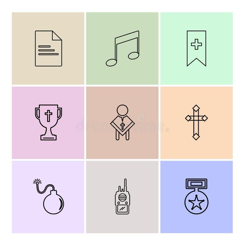 kartoteka, muzyka, mp3, etykietka, trofeum, ojciec, krzyż, bomba, medal, ep ilustracji