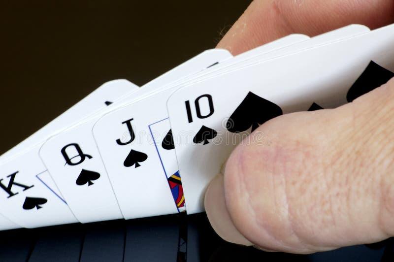 karty grać obraz royalty free