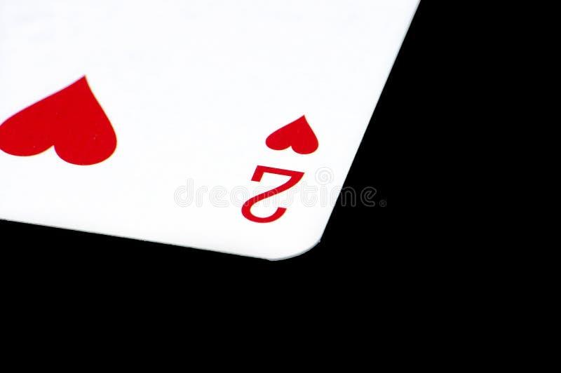 karty grać obrazy stock