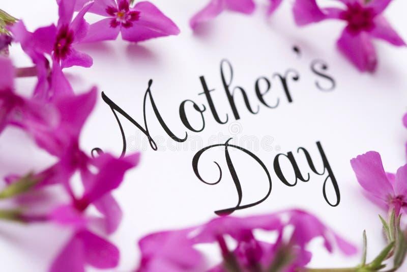 karty jest dzień matki zdjęcia stock