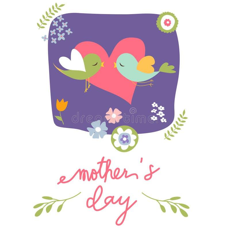 karty jest dzień matki ilustracja wektor