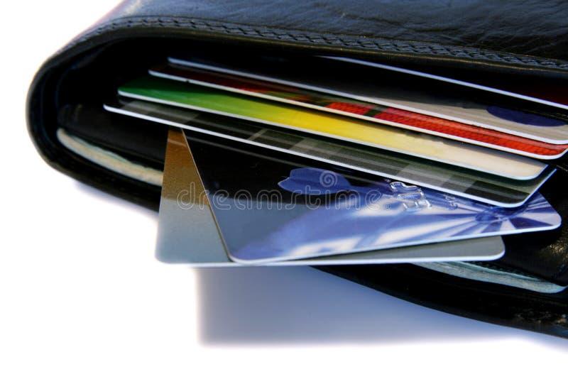 karty na portfel. zdjęcia stock