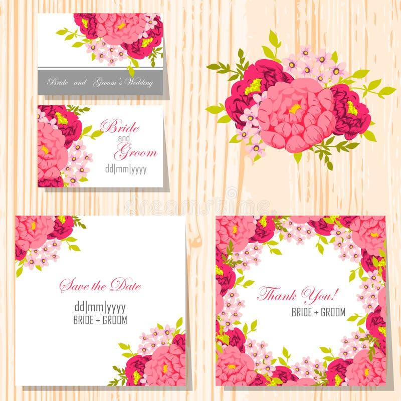 karty poboru ślub ilustracyjny ilustracji