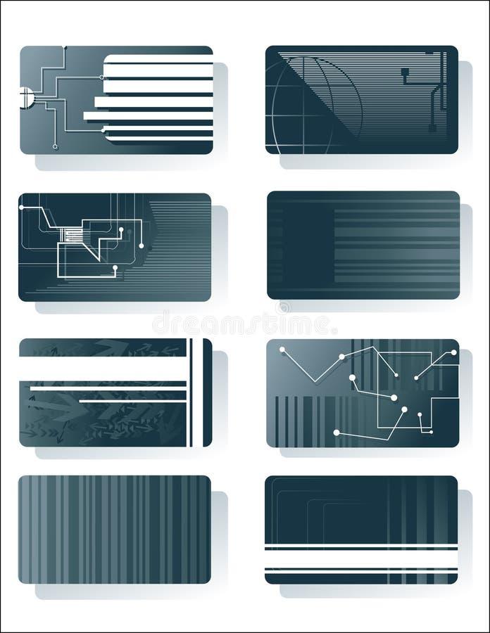karty technologii ilustracja wektor