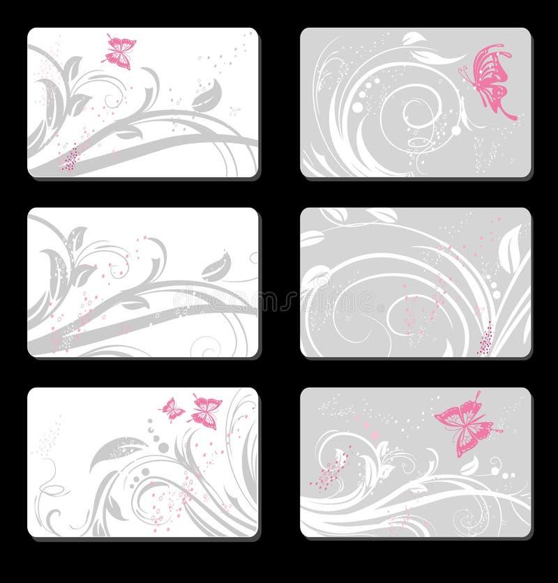 karty ustawiać royalty ilustracja