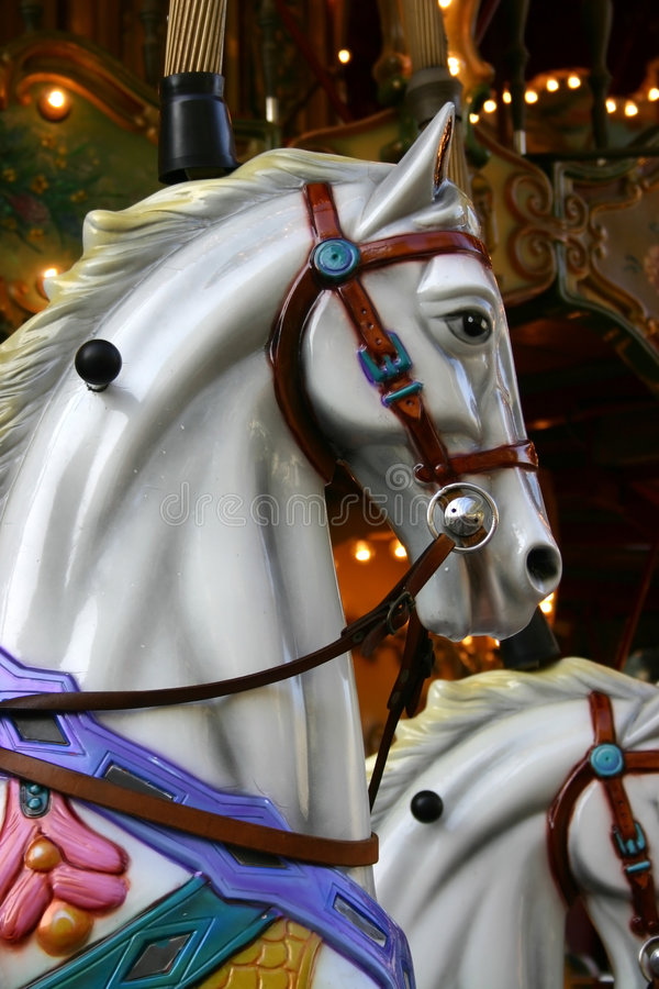 karusellhäst royaltyfri foto