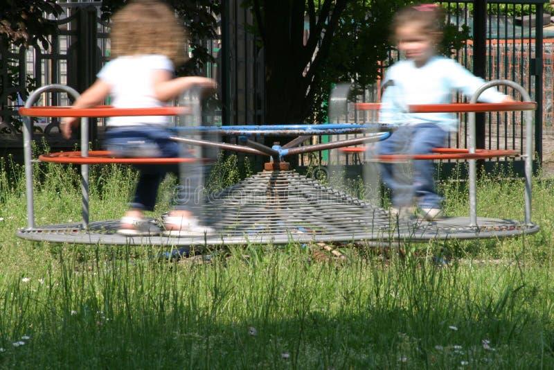 Download Karussell stockfoto. Bild von kinder, mädchen, kind, glücklich - 49720