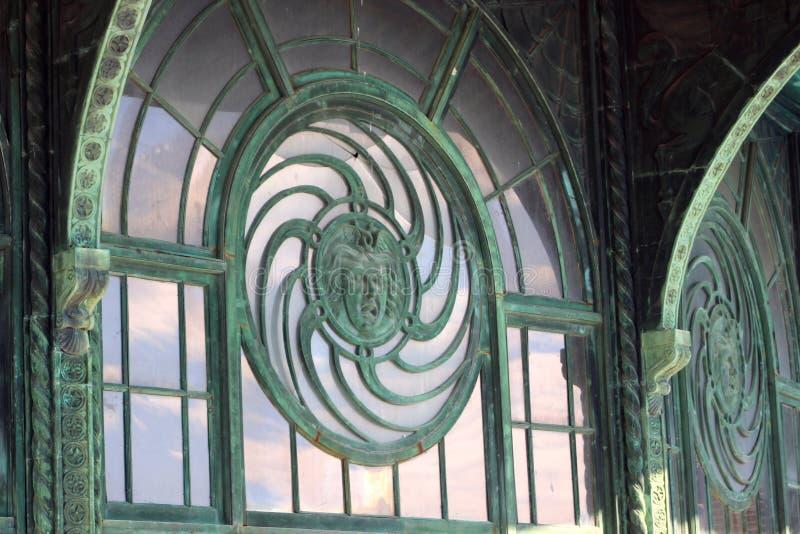 Karussell-Haus Asbury-Park New-Jersey stockbild