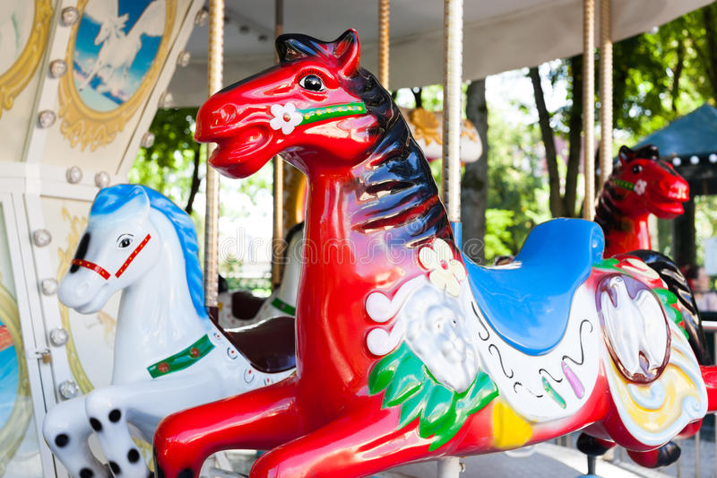 Karussell Horse lizenzfreie stockfotografie