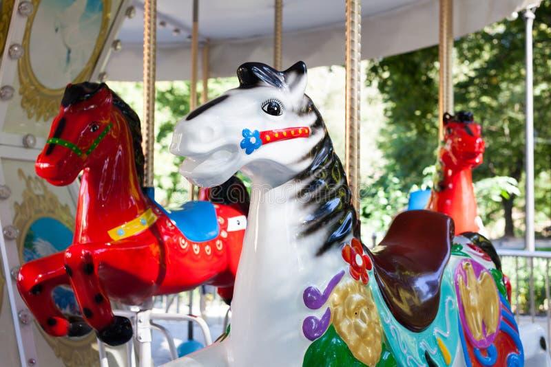 Karussell Horse stockfoto