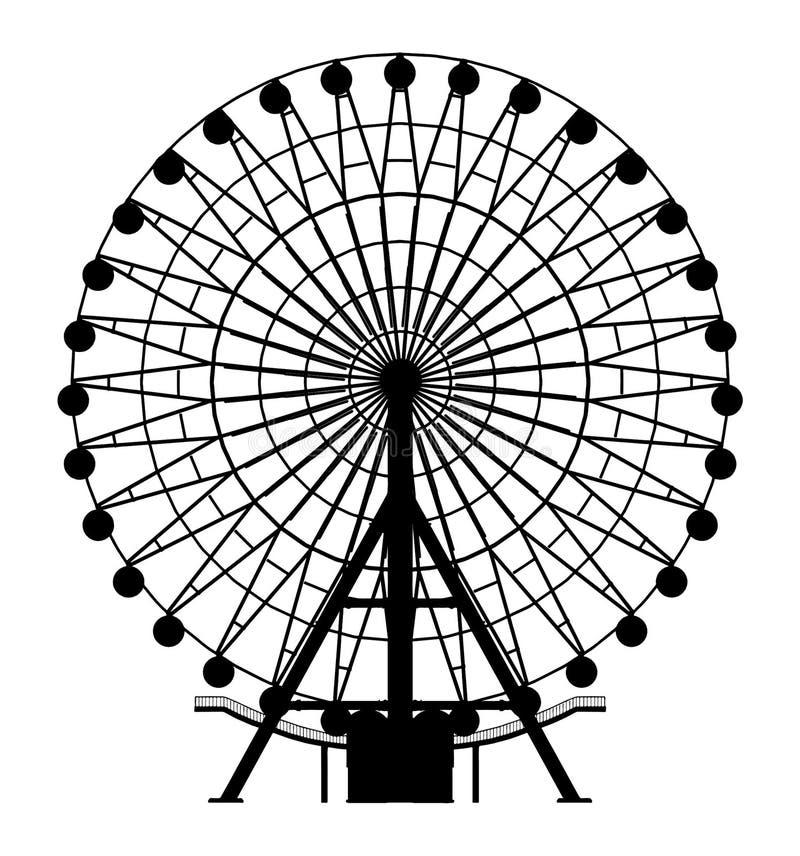 Karussell-Vektor 04 lizenzfreie abbildung