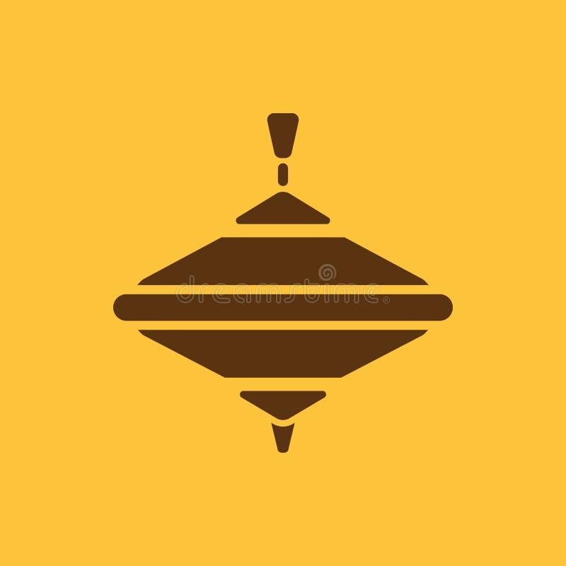 Karussellikone Whirlabout-Vektordesign Klammer-Spitze, Karussellsymbol web graphik jpg ai app zeichen nachricht flach lizenzfreie abbildung