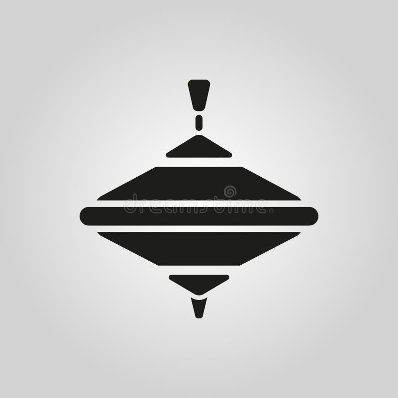 Karussellikone Whirlabout-Vektordesign Klammer-Spitzensymbol web graphik jpg ai app zeichen nachricht flach bild zeichen lizenzfreie abbildung