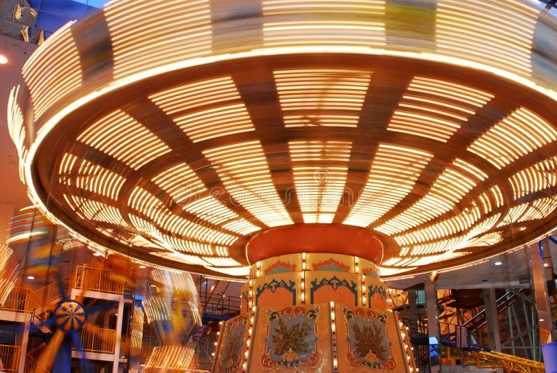karuzela Edmonton w centrum handlowym bałkanów obrazy royalty free