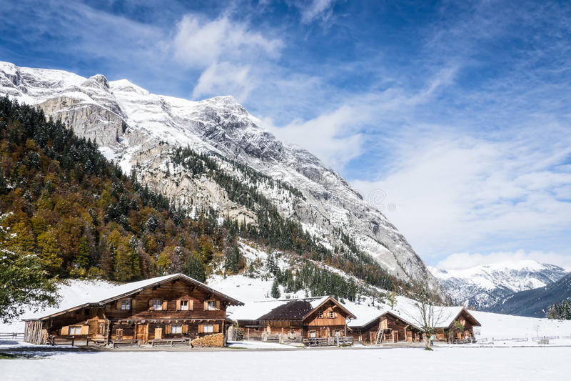 Karwendel royalty-vrije stock foto's