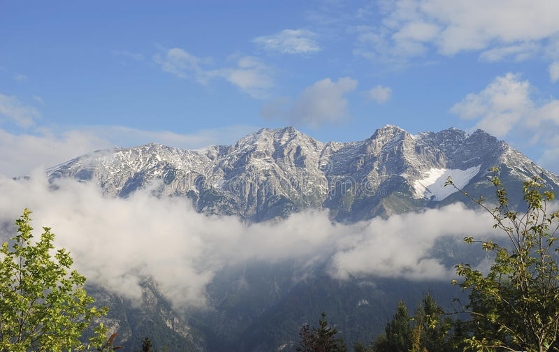 Karwendel Berge lizenzfreie stockfotografie