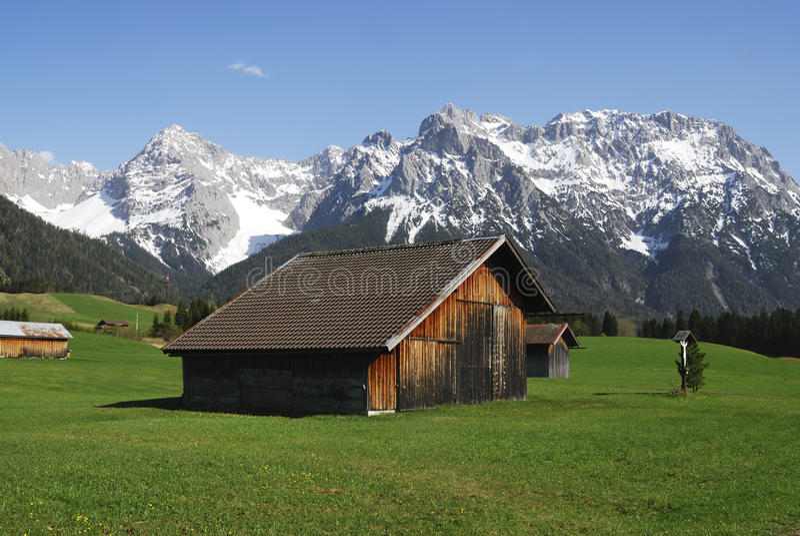 Download Karwendel Mountains Royalty Free Stock Photography - Image: 24953857