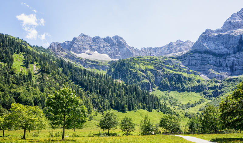 Download Karwendel stock image. Image of scene, austria, idyllic - 31333721