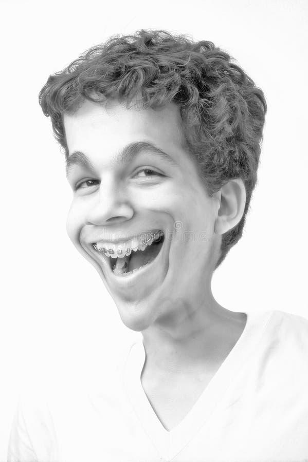 karykatura uśmiech obraz stock