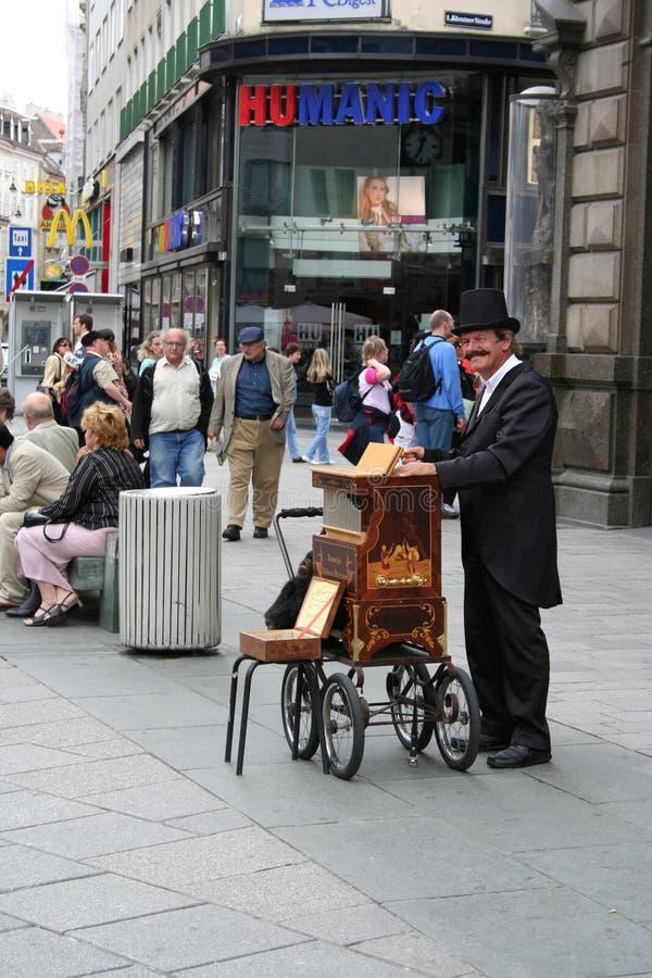 Karylionu gracz w Wiedeń, Austria zdjęcie stock