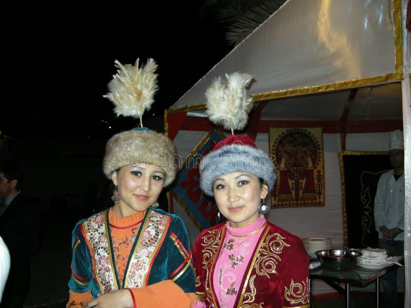 kasachische Mädchen