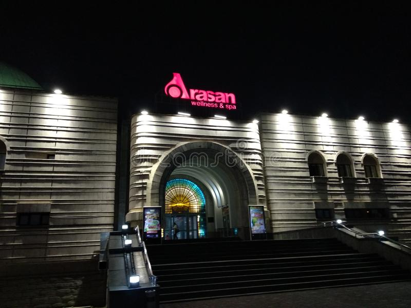 Kasakhstan Almaty arkivfoton