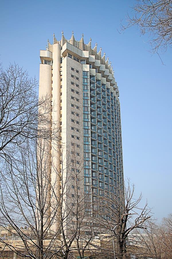 Kasakhstan hotell i Almaty, Kasakhstan arkivfoto