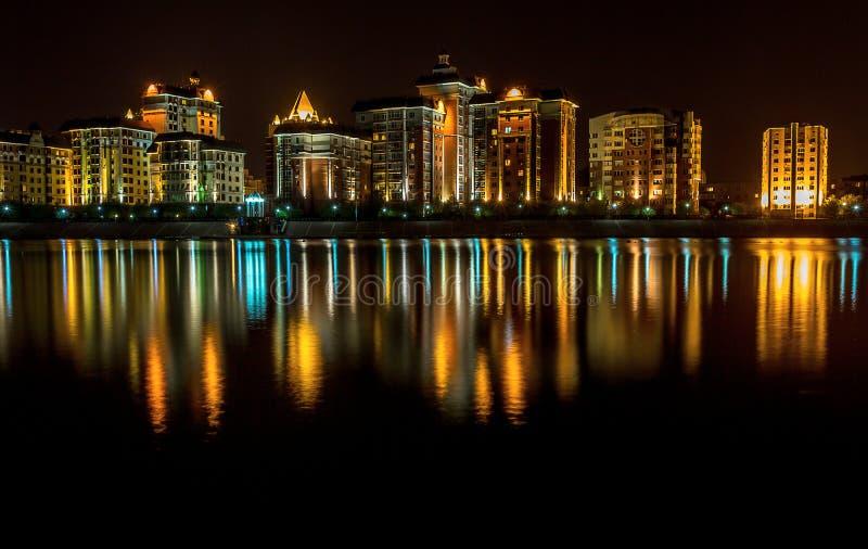 Kasakhstan huvudstad Astana royaltyfria bilder