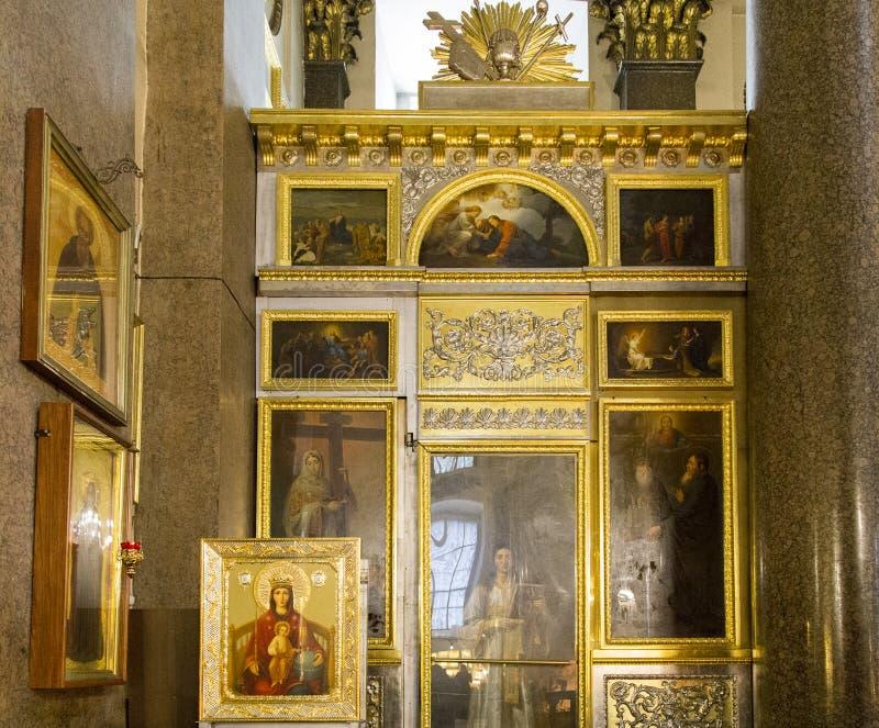 Kasan-Kathedrale in St.-peterburg lizenzfreie stockfotografie