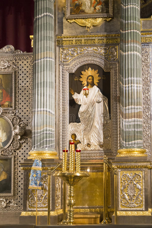 Kasan-Kathedrale in St.-peterburg lizenzfreies stockfoto