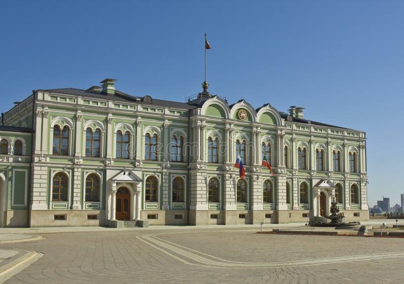 Kasan, Palast Präsidenten lizenzfreies stockbild