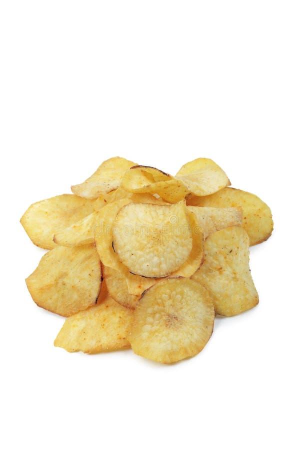 Kasawa chipsy. zdjęcie stock