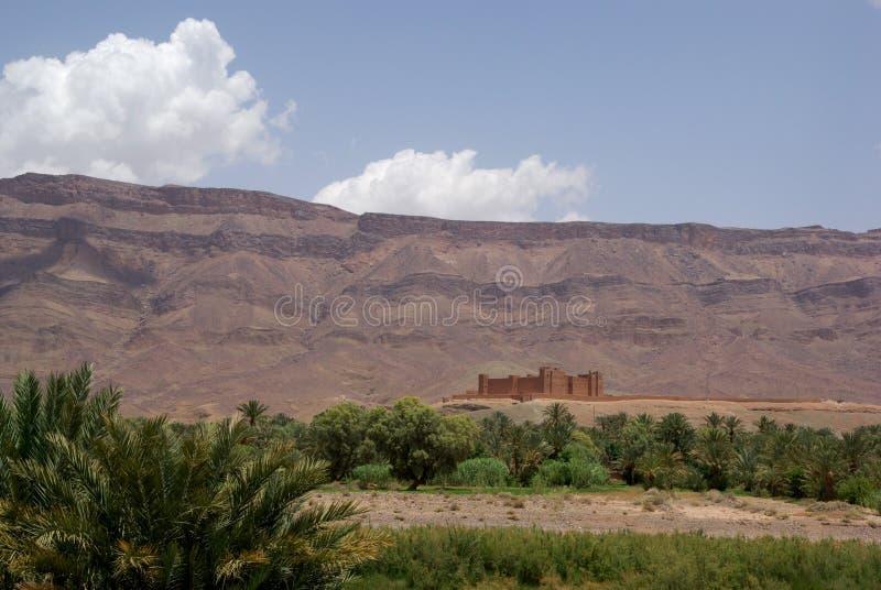 Kasbah城堡摩洛哥 库存照片