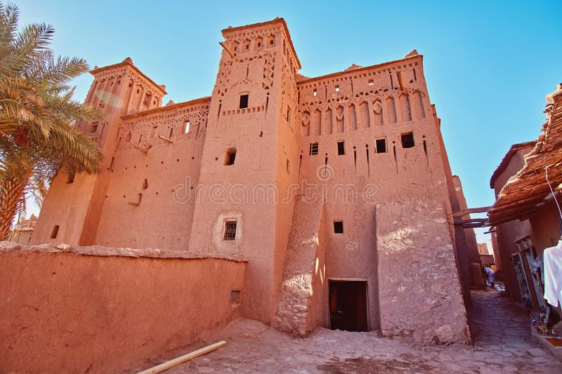 Kasbah Ait Ben Haddou in the Atlas Mountains of Morocco. UNESCO. World Heritage Site since 1987. Several films have been shot there stock image