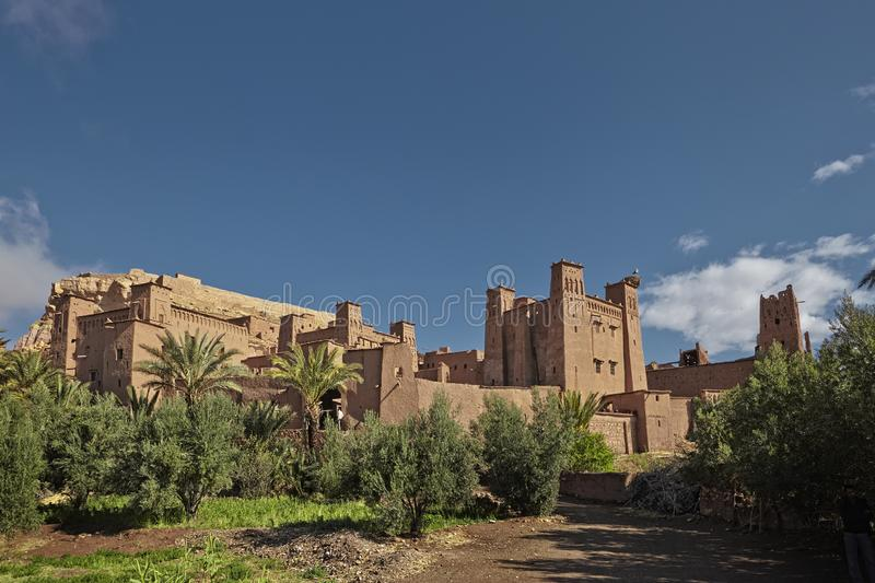 Kasbah Ait Ben Haddou in the Atlas Mountains of Morocco. UNESCO. World Heritage Site since 1987. Several films have been shot there stock photos