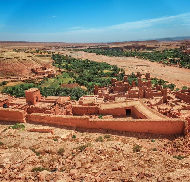 Kasbah Ait Ben Haddou in the Atlas Mountains of Morocco. UNESCO World Heritage. Kasbah Ait Ben Haddou in the Atlas Mountains of Morocco. UNESCO World Heritage stock image