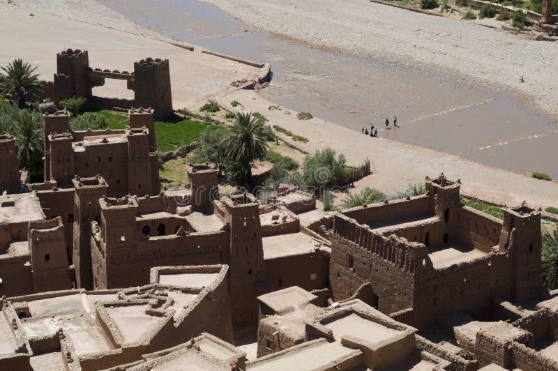 Download Kasbah Ait Benhaddou stock photo. Image of brown, medina - 17602768