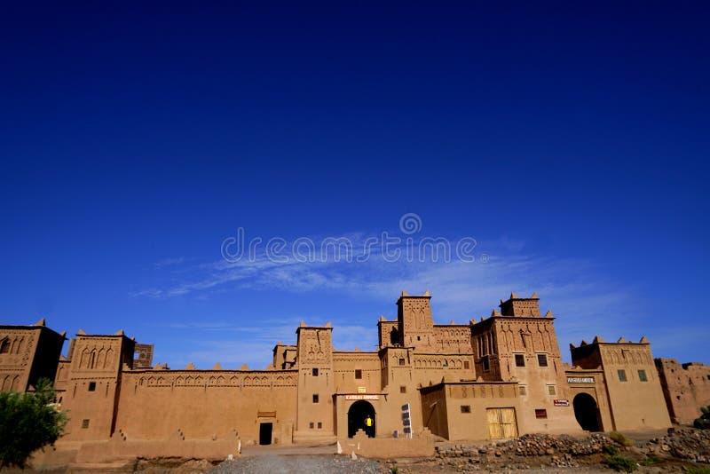 Kasbah Amridil в Марокко стоковое изображение rf